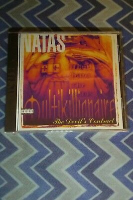 Natas,the devils contract cd,New,sealed,esham,mastamind,rare,hard to find