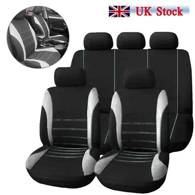 9x Car Seat Covers Protectors Universal Washable Dog Pet Full Set Front Rear