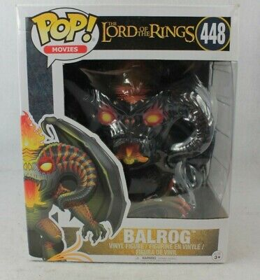Funko Pop Movies BALROG Deluxe Vinyl Figure 448 Lord of the Rings LOTR