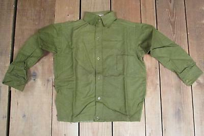 Vintage 1930s Bonnie Boy Green Wool Boys Shirt Antique New Old Stock! Age 10 NOS