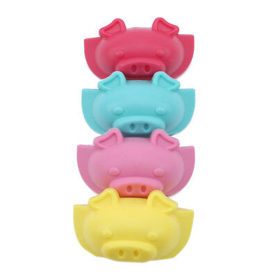 Pig Shape Table Desk Corner Edge Guard Cushion Baby Safety Bumper Protector N7