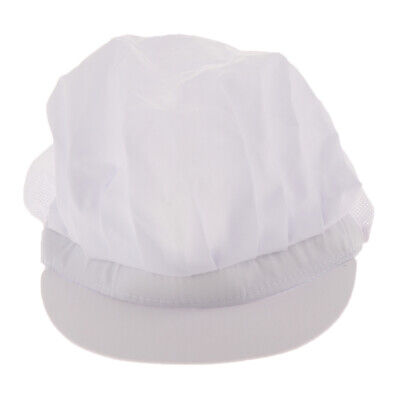 Chef Hat Restaurant Kitchen Working Catering Elastic Cap for Adults 6 Color