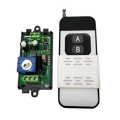 433Mhz 1Channel Relay RF Wireless Remote Control Relay Receiver Smart Switch