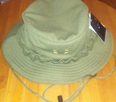 7c9eb96fd22 Under Armour Men s Tactical Bucket Hat green olive One Size NEW