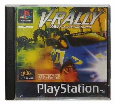 V-RALLY: CHAMPIONSHIP EDITION (PS1 Game) Playstation A