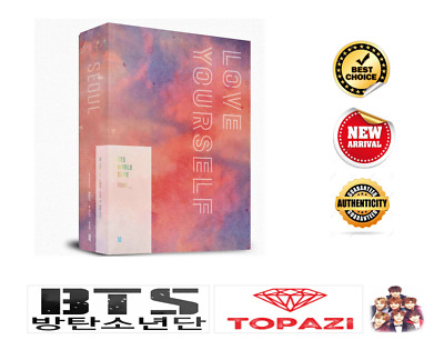 BTS World Tour Love Yourself Seoul DVD Full Set with Pre Order Gift Free Ship