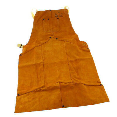 1PCS Heat Resistant Split Cowhide Leather Welding Apron