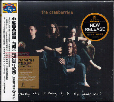 THE CRANBERRIES Everybody Else Is Doing It So Why Can't We 2018 Taiwan 2CD w/OBI