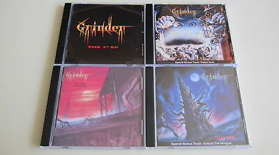 Grinder 4CD Set Dawn For The Living Dead End The 1st EP Nothing Is Sacred
