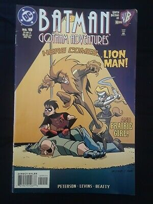 Batman Gotham Adventures (1998 DC Comics) #19 Lion Man/Prairie Girl FN 6.0