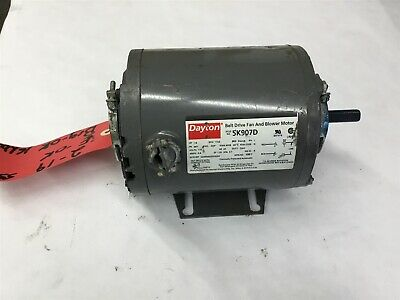 Dayton 5K907D 1/4 Hp Fan And Blower Motor 115 Volts, 115 Volts, 48Y Frame