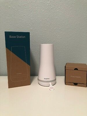 BRAND NEW SimpliSafe 2018 Base Station (White). Part number BS3W