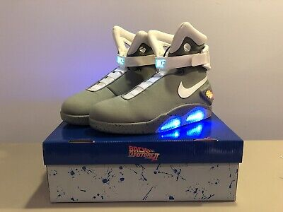 quality design 94b8a d68f0 Universal Studios Back To The Future Shoes Officially Licensed Air Mags  Size 11