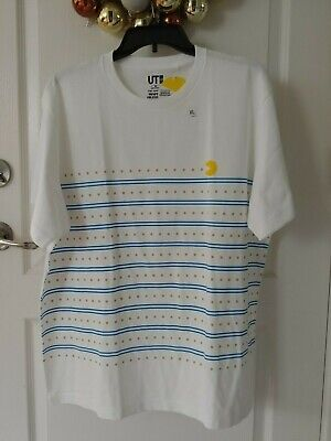 deb974f68 New Uniqlo Unisex The Game By Namco Museum PAC-MAN Short Sleeve Graphic T-