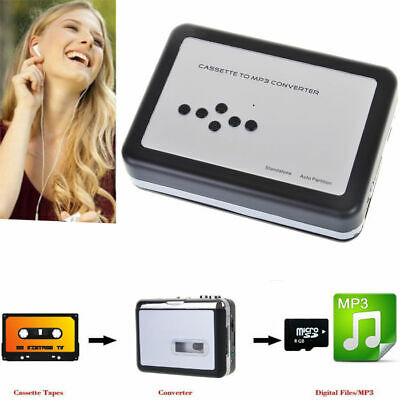 Cassette Tape to USB MP3 Converter Audio Capture to TF Card,Walkman Music Player