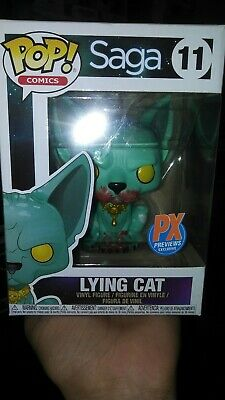Vinyl Figure Free UK P/&P New Lying Cat FCBD Exclusive Saga Funko POP