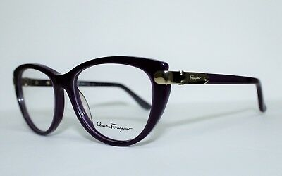 f9f03876cf New Salvatore Ferragamo Sf2720 513 Purple Authentic Eyeglasses Rx 52-16-135  Mm