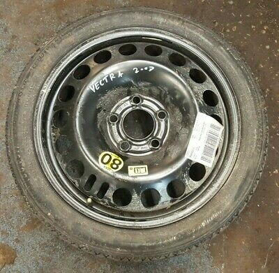 2007 Vauxhall Vectra 1.9 Cdti Space Saver Tire Wheel Rim With Tyre 115/70R16