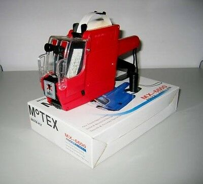 TOTAL  4 double line price gun MX6600 (labeling gun) + extra one refillable ink
