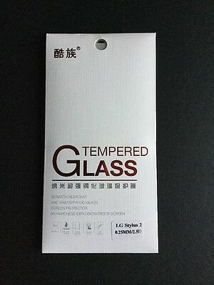 Premium Quality Ultra Clear Tempered Glass 9H Screen Protector For LG Stylus 2