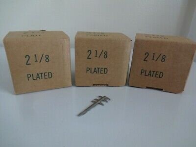"""Rhyne Pick Machine Floral Picks Plated Steel 2 1/8"""" 3 Boxes Approx. 6000 ct."""