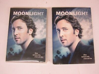 Moonlight - The Complete Series (DVD, 2009, 4-Disc Set) FREE SHIPPING