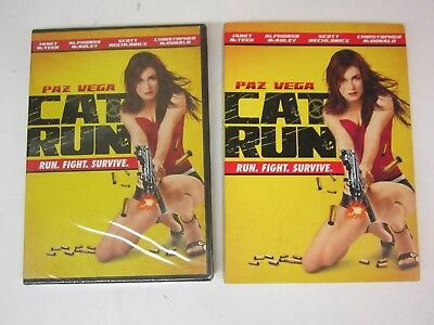 Cat Run (DVD, 2012) WITH SLIPCOVER - BRAND NEW   FACTORY SEALED    FREE SHIPPING