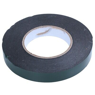 3X(20 m (20mm) Double Sided Foam Tape Sponge Tape Waterproof Mounting Adhe Q7E6)