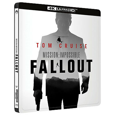 Mission:Impossible Fallout Best Buy (SteelBook) 4K Ultra HD + Blu-Ray