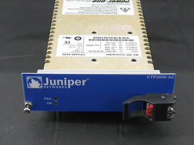 Juniper CTP2000-PWR-S CTP2024 CTP2056 AC Power Supply 365Day Warranty CTP2000-AC