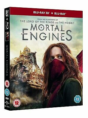 Mortal Engines (3D + 2D Blu-ray) BRAND NEW PRE-ORDER