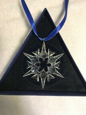Swarovski Crystal Annual Christmas Snowflake Star 2007 Ornament Mint in Box