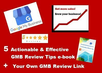 Google My Business Review Link + 5 Actionable Tips for More Sales Local Biz SEO