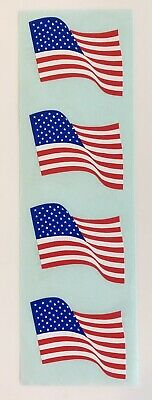 Mrs Grossman`s AMERICAN FLAGS Small Stickers 1989