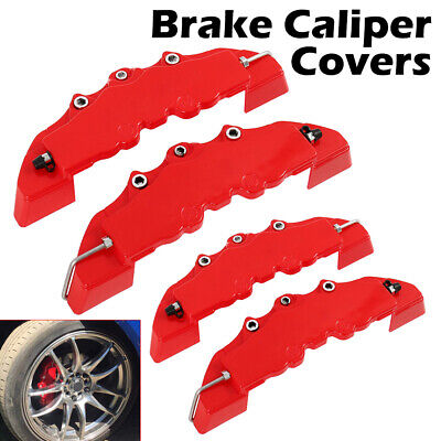 3D 4Pcs Style Car Universal Disc Brake Caliper Covers Parts Front & Rear Hot CA