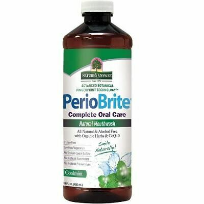 Nature's Answer PerioBrite Alcohol-Free Mouthwash 480ml