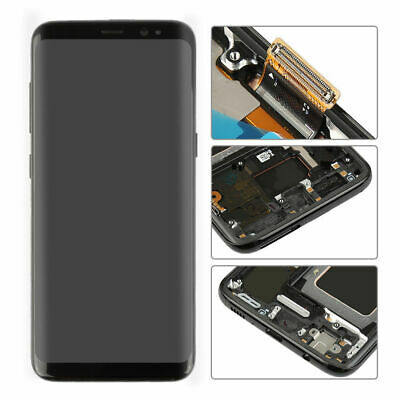 D grade LCD Display Screen Touch Digitizer +Frame For Samsung Galaxy S8 SM-G950U