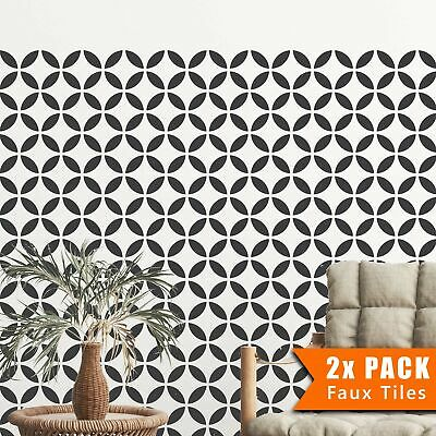TSUNAGI TILE Stencil for Painging for Floors and Walls