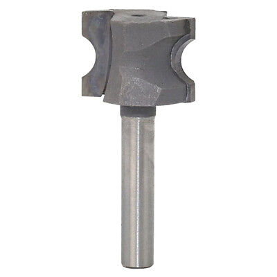 Carbide 2 Flute Router Bit Bull Nose 1/2'' 1/4'' Shank Woodworking Tools