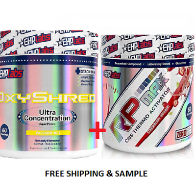 Oxyshred Ehplabs/Thermogenic Weight Loss & Rp Max 50 Serves Pre Workout