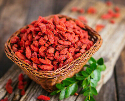 Goji Berries SUPERFOOD Dried Berry Antioxidants PROTEINS Diet Free UK Shipping
