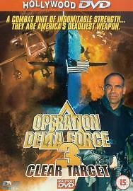 Operation Delta Force 3 - Clear Target (DVD, 2002) Free Fast Delivery