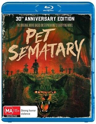 Pet Sematary - 30th Anniversary Edition(Blu-ray, 2019)BRAND NEW & SEALED