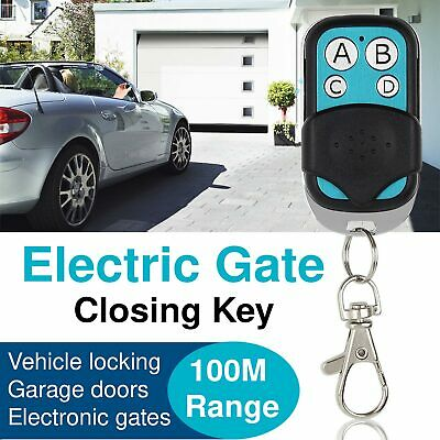 OZ Universal Replacement Garage Door Car Gate Cloning Remote Control Key Fob 433