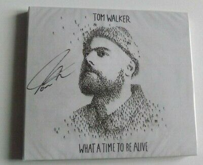 Tom Walker What A Time To Be Alive Signed Cd Sealed