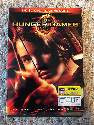 The Hunger Games (DVD, 2012, 2-Disc Set), Free Shipping