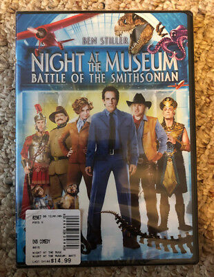 Night at the Museum: Battle of the Smithsonian (DVD, 2009), Free Shipping