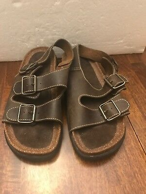 c590af0980a5 NUNN BUSH MENS Fisherman Open Toe Ritter Sandals Brown SIZES! New ...