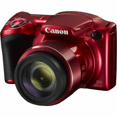 Canon PowerShot SX420 IS Digital Camera Red PX