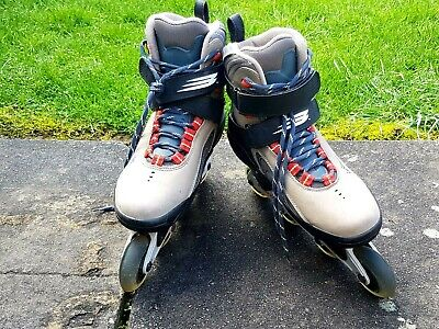 Bauer Xtra mens Roller Skate Grey/Brown/Black UK 9 EU 44 , 28 cm